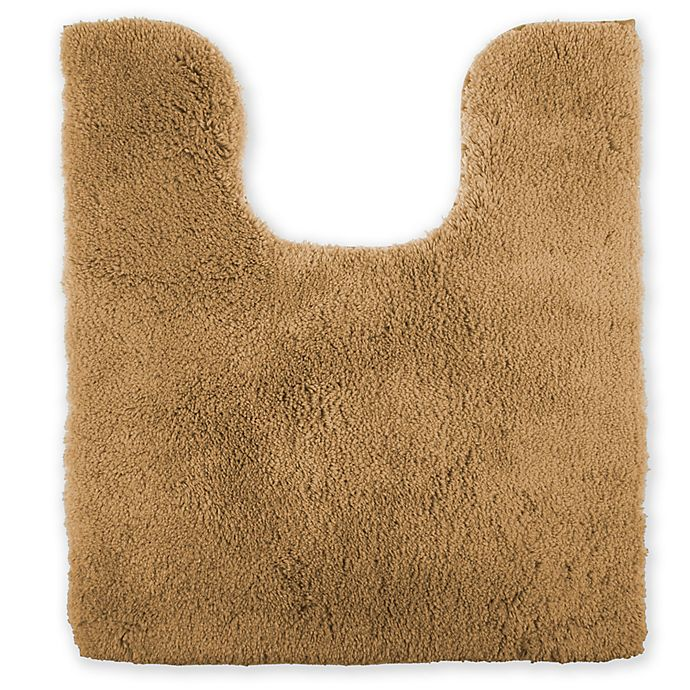 Alternate image 1 for Wamsutta® Ultra Soft Contour Bath Rug in Straw