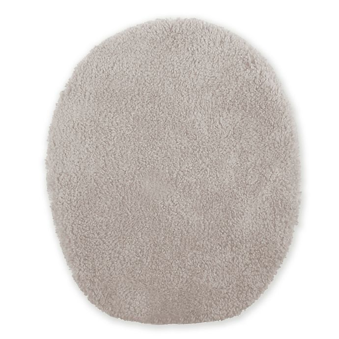 Alternate image 1 for Wamsutta® Ultra Soft Universal Toilet Lid Cover in Fog