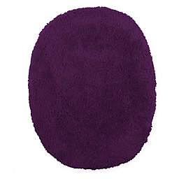 Wamsutta® Ultra Soft Elongated Toilet Lid Cover in Deep Purple