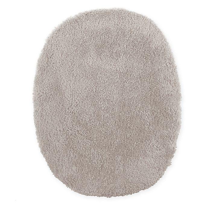 Alternate image 1 for Wamsutta® Ultra Soft Elongated Toilet Lid Cover in Fog