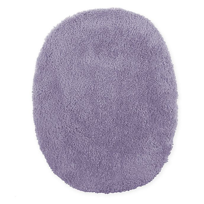 Alternate image 1 for Wamsutta® Ultra Soft Elongated Toilet Lid Cover in Grape