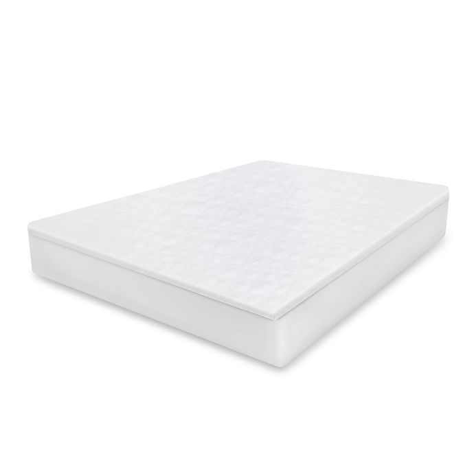 Alternate image 1 for Therapedic® Cool Cotton Mattress Protector with DreamSmart Technology in White