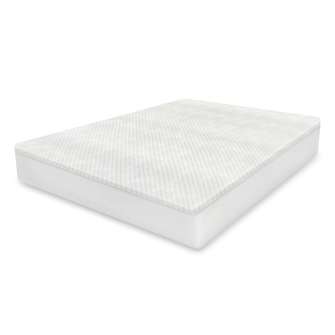 Alternate image 1 for Therapedic® Cool-to-Touch Mattress Protector with DreamSmart Technology in White