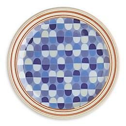 Denby Heritage Fountain Accent Salad Plate in Blue