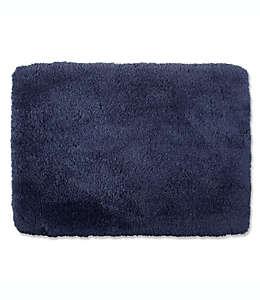 Tapete para baño de nylon Wamsutta® Ultra Soft color azul mezclilla