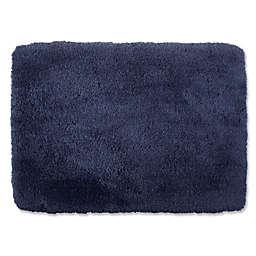 Wamsutta® Ultra Soft 17-Inch x 24-Inch Bath Rug in Denim Blue