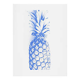 Deny Designs Deb Haugen Blu Pineapple Wall Art
