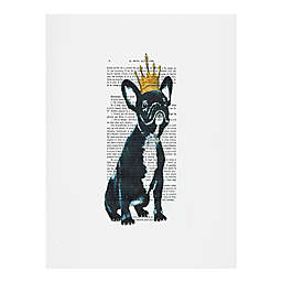 Deny Designs Coco De Paris Bulldog King Wall Art