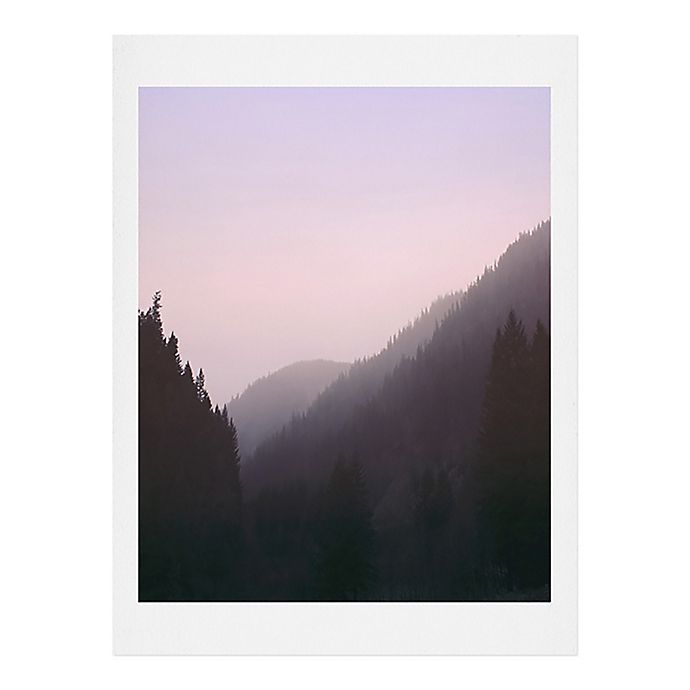 Alternate image 1 for Deny Designs  Leah Flores 11-Inch x 13-Inch Wilderness Art Print in Pink