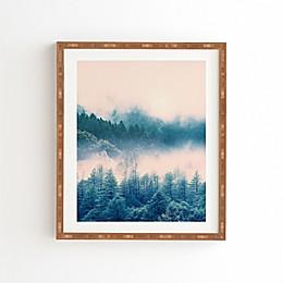 Deny Designs 11-Inch x 13-Inch Viviana Gonzalez Pastel Vibes Framed Wall Art
