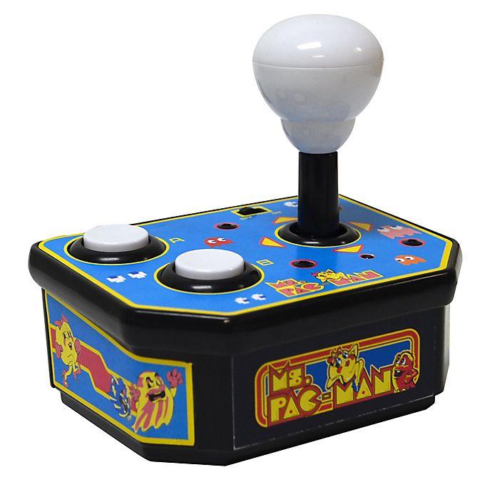 Alternate image 1 for MSI Plug N Play Ms. Pac-Man Classic TV Arcade Game