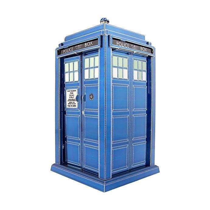 Alternate image 1 for Metal Earth: 3D Doctor Who Tardis Model