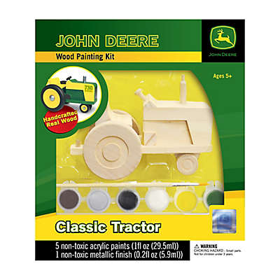 John Deere Classic Tractor Wood Painting Kit
