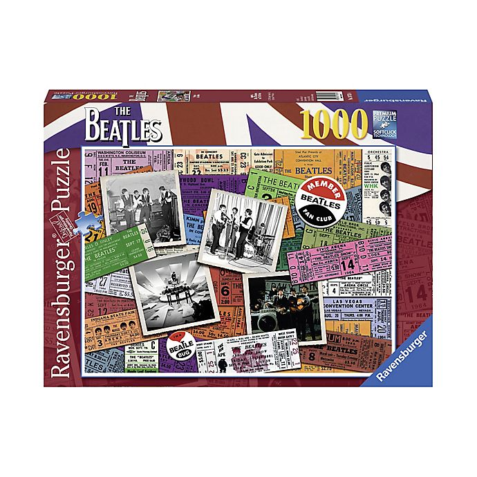 Alternate image 1 for The Beatles 100-Piece Tickets Puzzle