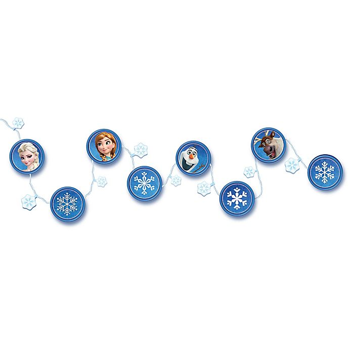 Alternate image 1 for Disney® In My Room™ Frozen Light Vines Snow & Ice String Lights