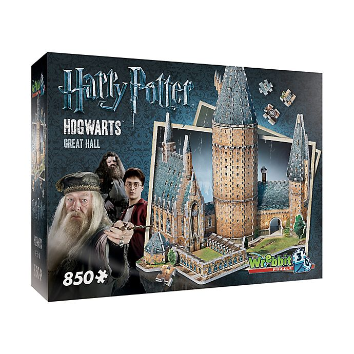 Alternate image 1 for Harry Potter™ Collection Hogwarts™ Great Hall 3D Puzzle