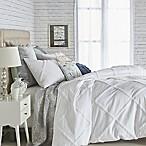 Peri Home Chenille Lattice Full/Queen Comforter Set in White