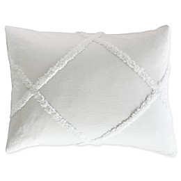 Chenille Lattice Pillow Sham
