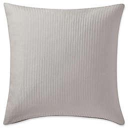 Highline Bedding Co. Adelais European Pillow Sham in Grey