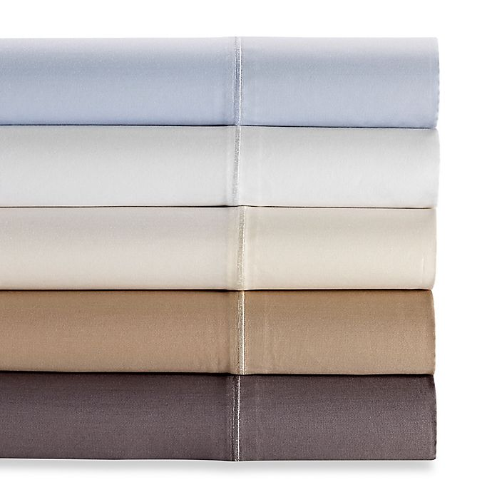 Alternate image 1 for Wamsutta® 500-Thread-Count PimaCott® Memory Foam Mattress Sheet Set