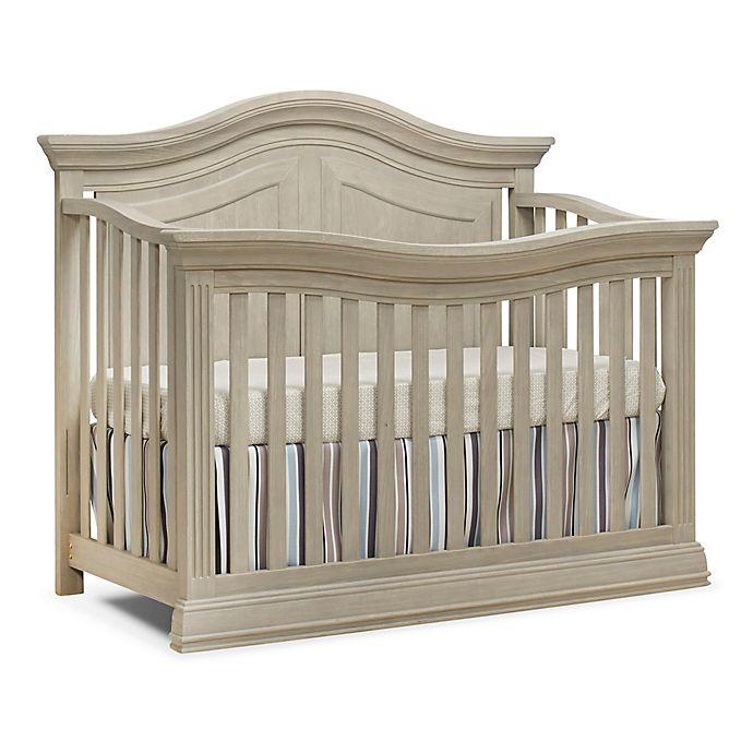 Sorelle Providence 4 In 1 Convertible Crib In Heritage Fog