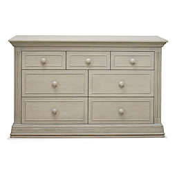 Sorelle Providence 7-Drawer Double Dresser in Heritage Fog