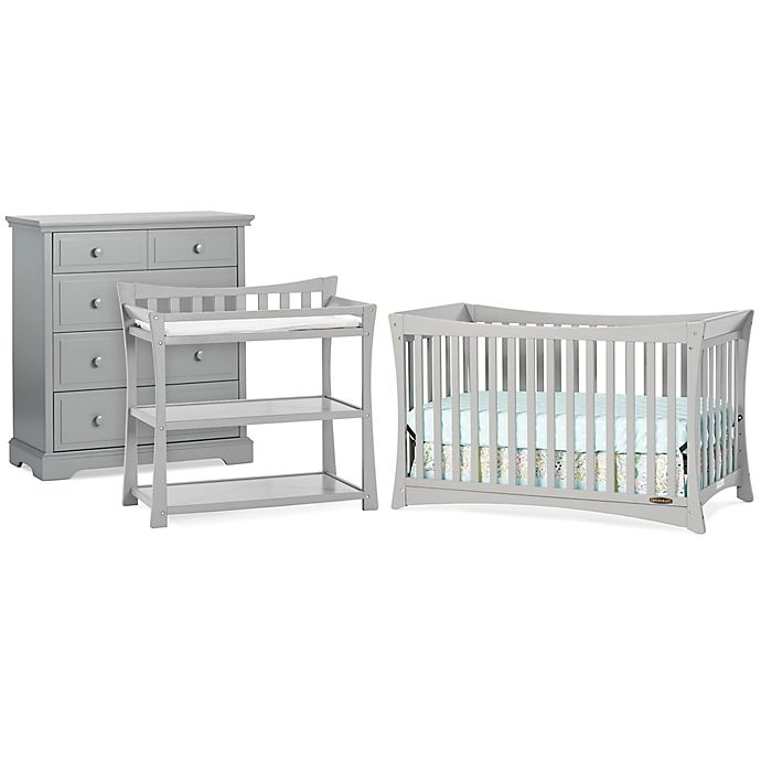 Child Craft Parisian Nursery Furniture Collection In Cool Grey