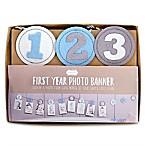 Mud Pie® First Year Photo Banner in Blue
