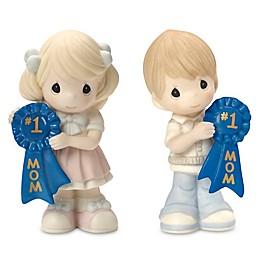Precious Moments® #1 Mom Blue Ribbon Figurine