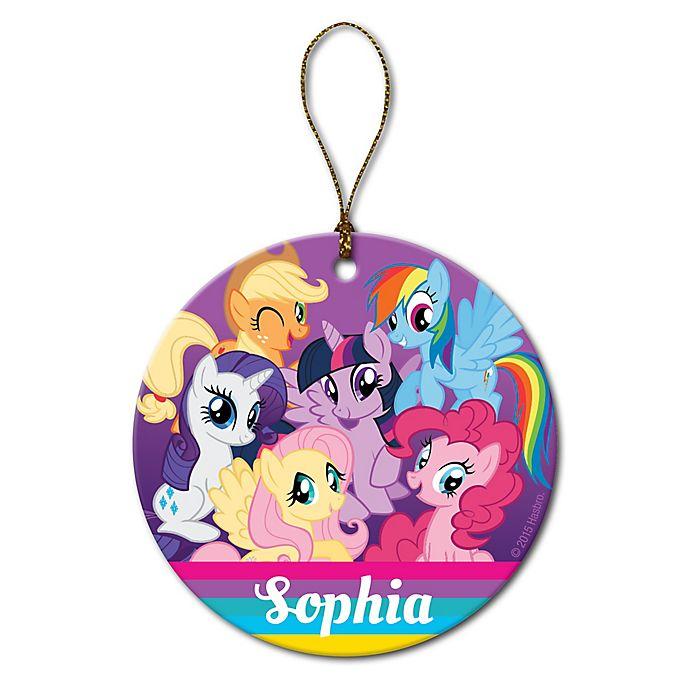 Alternate image 1 for My Little Pony Round Ceramic Ornament