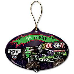 Monster Jam Grave Digger Ceramic Ornament