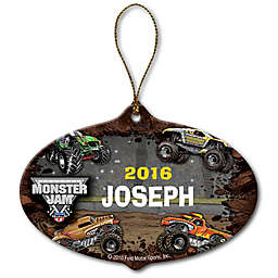 Monster Jam Grave Digger Stadium Ceramic Ornament