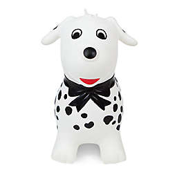 Waddle™ Spots the Dog Inflatable Ride-On Toy in Black/White