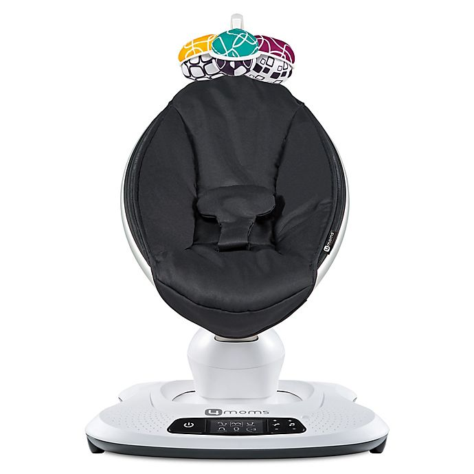Alternate image 1 for 4moms® mamaRoo® 4 Classic Infant Seat in Black