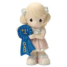 Precious Moments® #1 Dad Blue Ribbon Girl Figurine