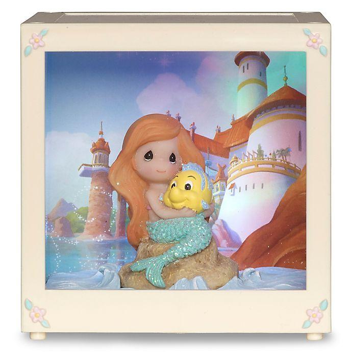 Alternate image 1 for Precious Moments® Disney® Ariel LED Shadow Box