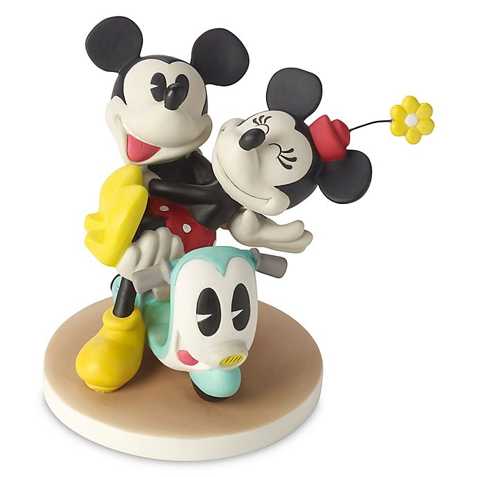 Alternate image 1 for Precious Moments® Disney® Love Can Take Us Anywhere Mickey and Minnie Figurine
