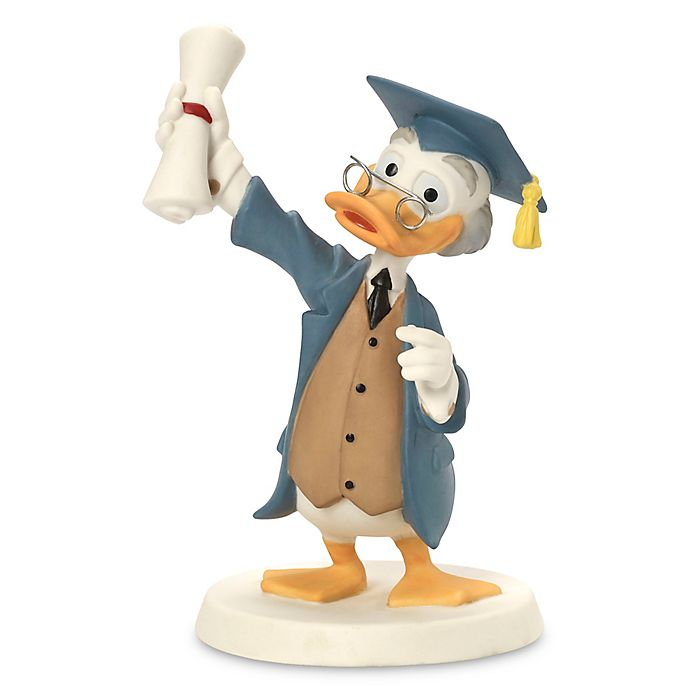 Alternate image 1 for Precious Moments® Disney® Ludwig Von Drake Graduation Figurine