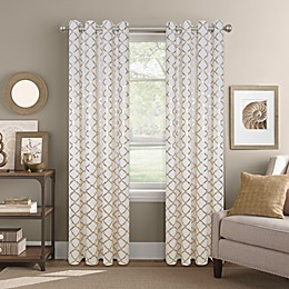 Colordrift Golden Gate Grommet Top Window Curtain Panel