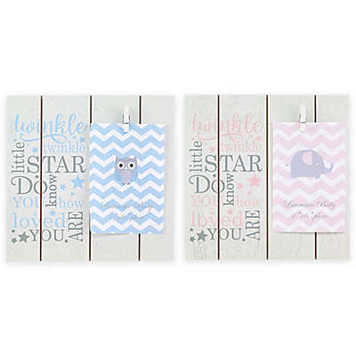 "Lawrence Frames ""Twinkle Twinkle Little Star"" Clip Picture Frame"