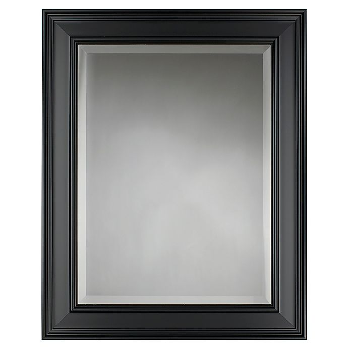Alternate image 1 for Grasmere Wall Mirror in Black