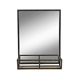Kate and Laurel Jackson Wall Mirror with Shelf