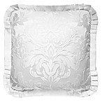 J. Queen New York™ Carmella Square Throw Pillow in White