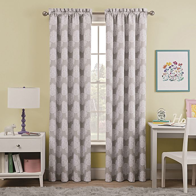 Alternate image 1 for Waverly Kids Airwaves Rod Pocket Room Darkening Window Curtain Panel