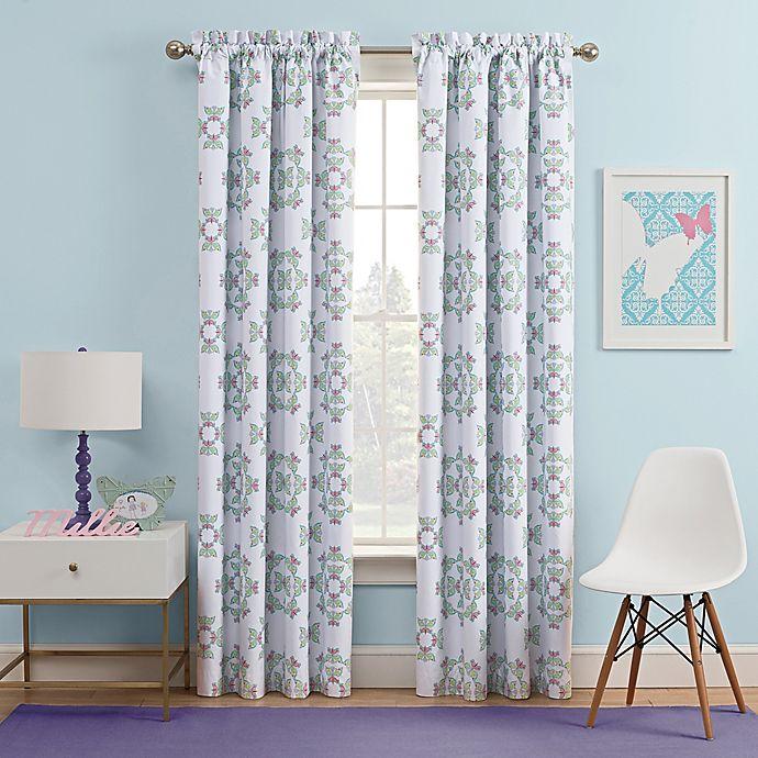 Alternate image 1 for Waverly Kids Ipanema Rod Pocket Rom Darkening Window Curtain Panel