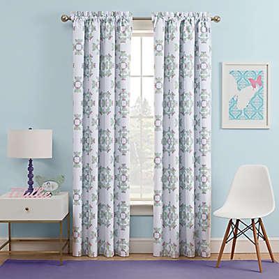 Waverly Kids Ipanema Rod Pocket Rom Darkening Window Curtain Panel