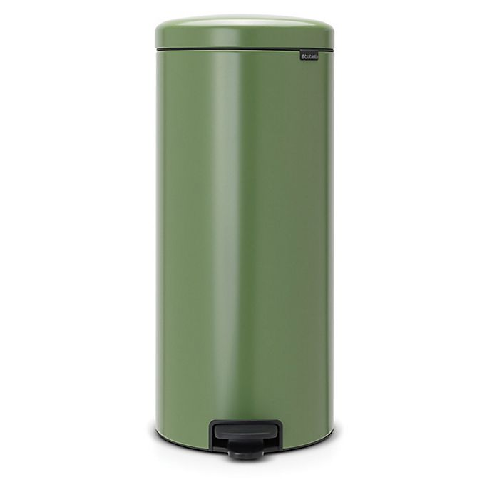 Alternate image 1 for Brabantia® 8-Gallon newIcon Pedal Bin Trash Can in Green