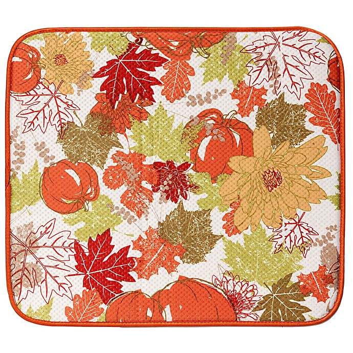 Harvest 16 Inch X 18 Inch Dish Drying Mat Bed Bath Amp Beyond