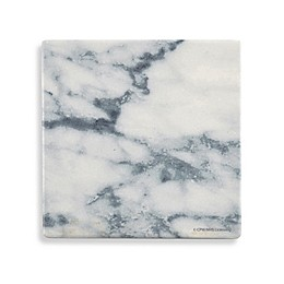 Thirstystone® Printed Marble Single Coaster in Blue and White