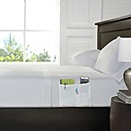 Smart Queen Sheet Set with Pocket in White